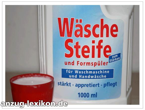 Flüssige Wäschestärke / Wäschesteife