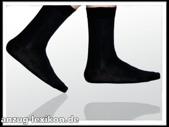 Schwarze Socken